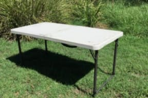 Fold Up Camp Table