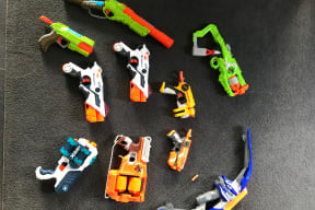 Nerf and Nerf Compatible Toy Gun Party Hire