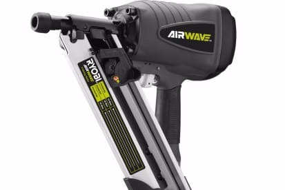 Ryobi Airwave Air Framing Nailer Clipped Head