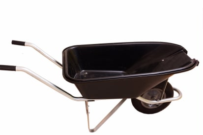 Wheelbarrow With Pourer
