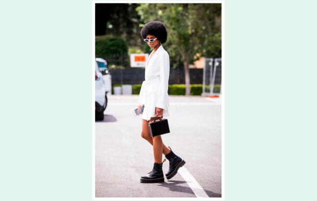 Как носить осеннюю обувь с платьем - 10 удачных образов с фото на PEOPLETALK