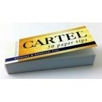 Filtre rulat CARTEL din carton - Filter Tips Perforated (50)