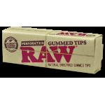 Filtre rulat RAW din carton - Filter Tips Perforated Gummed (33)