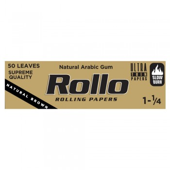 Foite rulat Rollo - Brown 78 mm (1 1/4) (50)