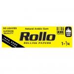 Foite rulat Rollo - Yellow Organic 78 mm (1 1/4) (50)