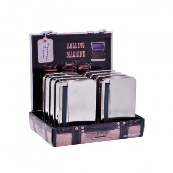 Aparat rulat foite (Roller BOX Automatic) Metalic - Champ (110 mm Long)