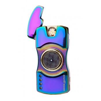 Bricheta electrica Silver Match - Theydon Lightbeam USB Spinner