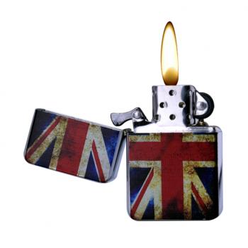 Bricheta metalica benzina - Champ UK/USA Flag
