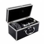 Narghilea Champ - Alu Case Gift Box (25 cm, un furtun)
