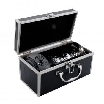 Narghilea Champ - Alu Case Gift Box (25 cm, un furtun)