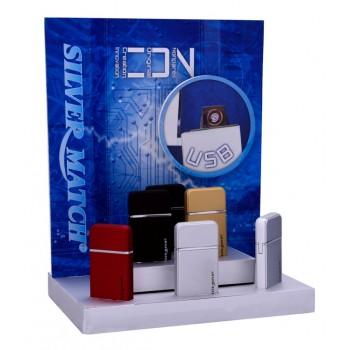 Bricheta electrica Silver Match - USB Limehouse Color