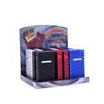Tabachera Champ - pachet tigari Aluminium BOXX Magnet Perfored SLIM Long (20)