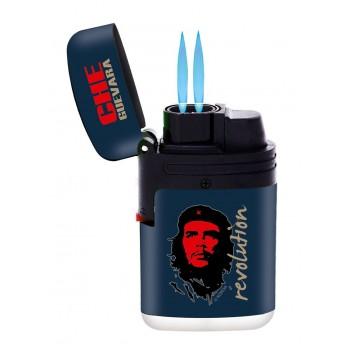 Bricheta Champ double Blue Jet Flame - Che Guevara