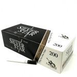 Tuburi tigari Silver Star - Carbon Black Filter 25 mm (200)