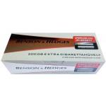 Tuburi tigari Benson and Hedges Silver - 25 mm Carbon (200)