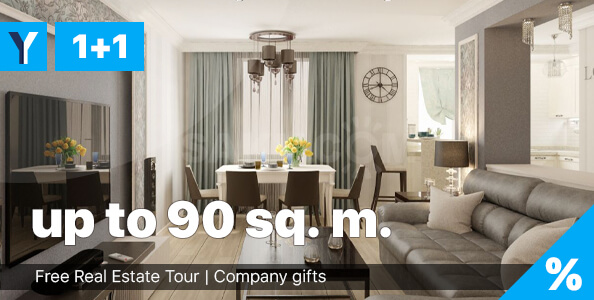 One-bedroom apartments in North Cyprus