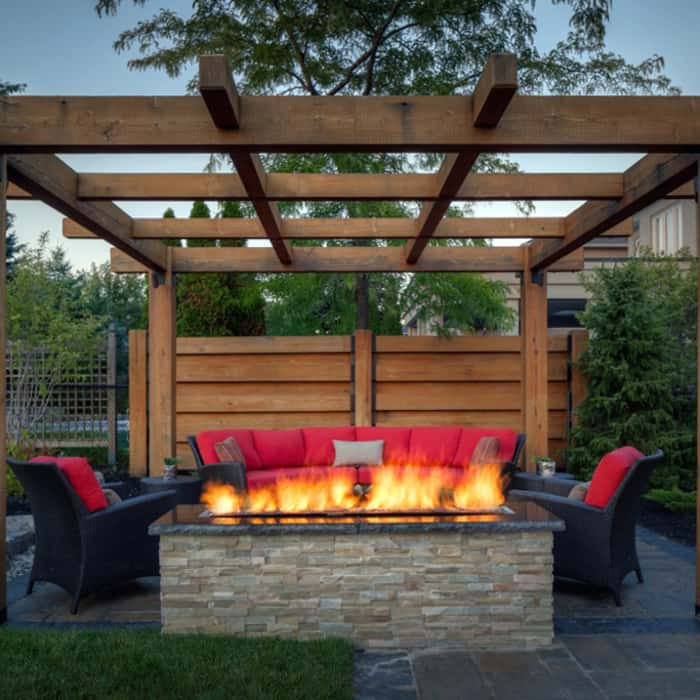 Firepits - keeping comfortable outdoors in the colder months