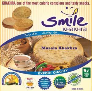 MASALA  KHAKHRA  - vacuum 200g X  2 Pack