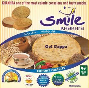 GOLGAPPA KHAKHRA  - vacuum 200g X 2 Pack