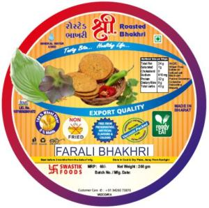 Farali Rosted Bhakhri Vaccume 200g X 2 Pack