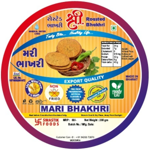 Mari Rosted Bhakhri Vaccume 200g X 2 Pack