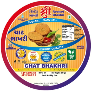 Chat Rosted Bhakhri Vaccume 200g X 2 Pack