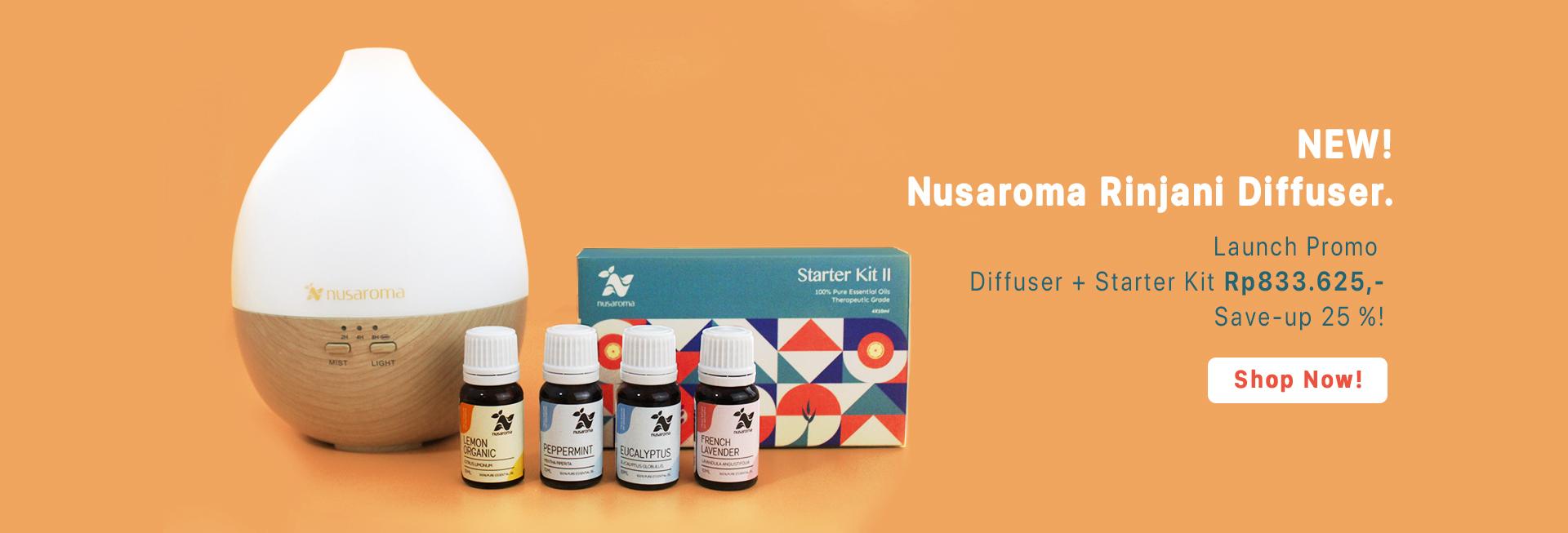 FLASH SALE 2020 Nusaroma Essential Oils Promo