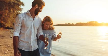Online-Dating-Treffen in Person über weite Strecken