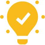 Icon Bild Birne - Akzeptanz von Dokumenten für eine kostenlose Mitgliedschaft