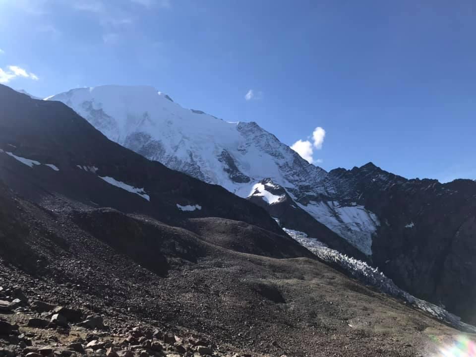 Le glacier du Bionnassay