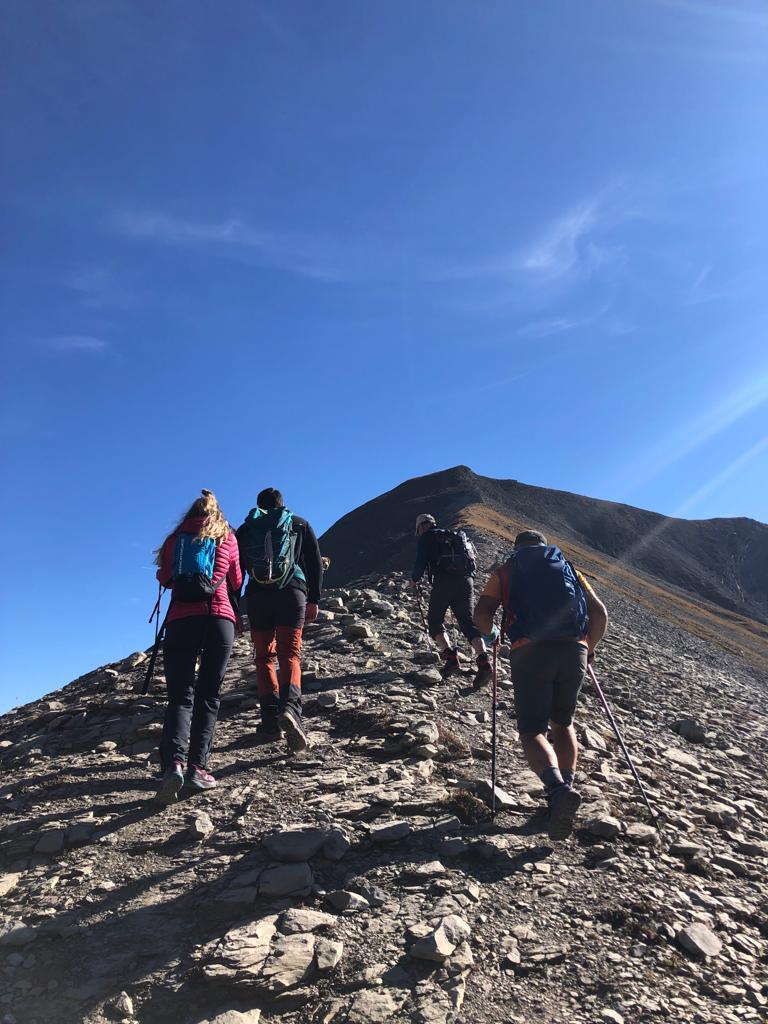 Tour et sommet des 4 Têtes