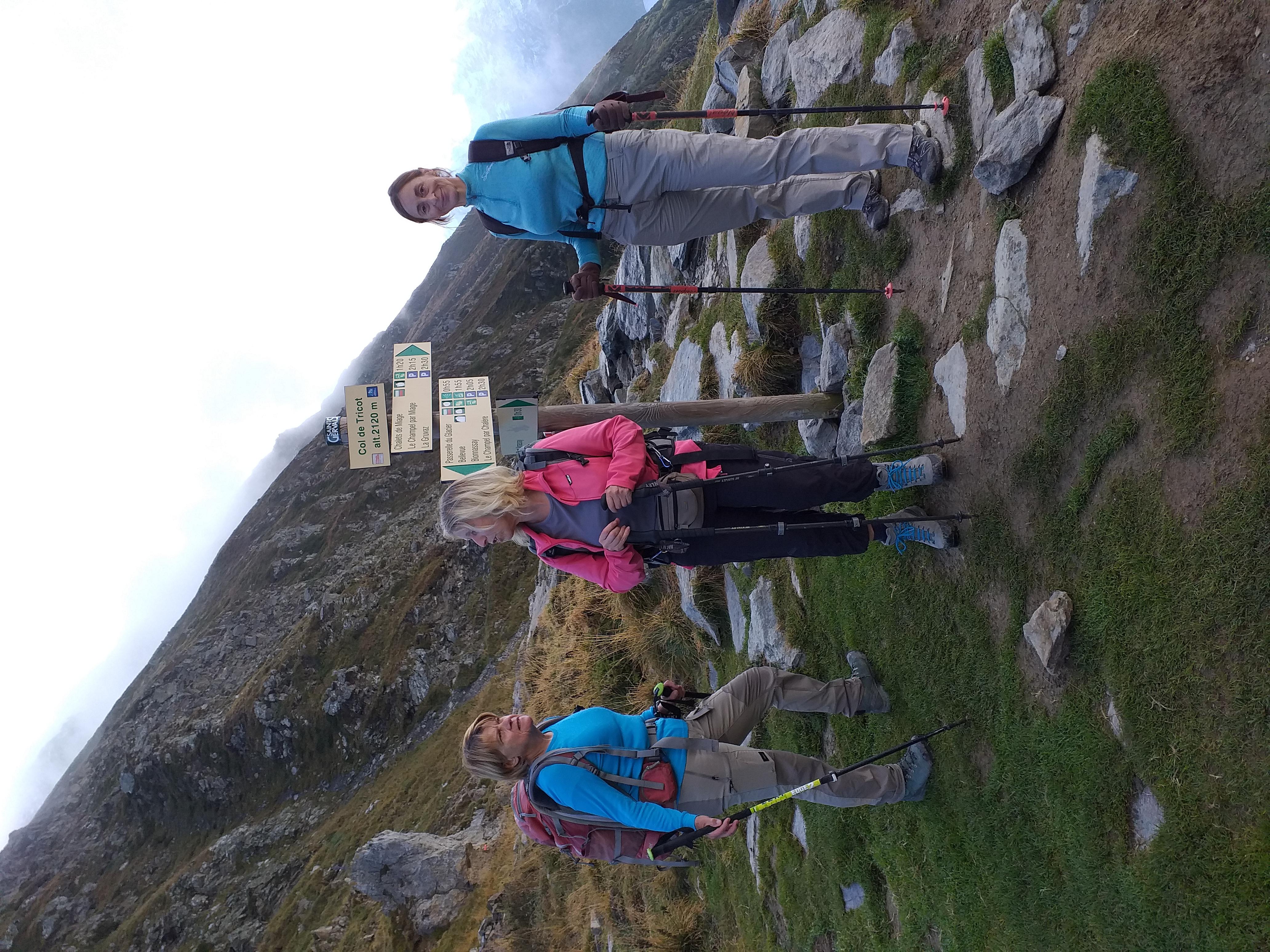 Col du Tricot et mont Vonassay