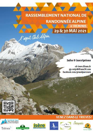 Rassemblement de la randonnée alpine
