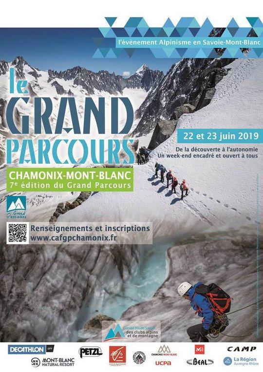 Le 7ème Grand Parcours Alpinisme Chamonix-Mont-Blanc