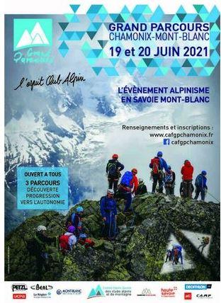 Le Grand Parcours Alpinisme Chamonix-Mont-Blanc revient cette année !