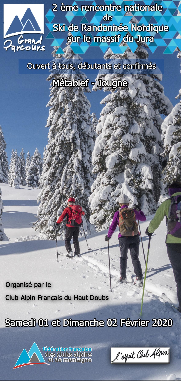 Grand Parcours Ski randonnée nordique