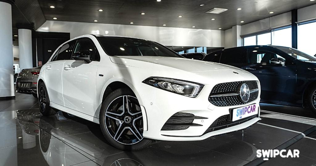 Mercedes clase a exterior diseño
