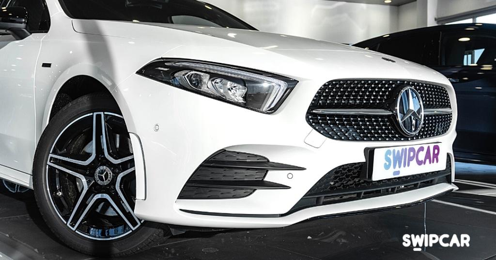 Mercedes clase a parilla exterior diseño