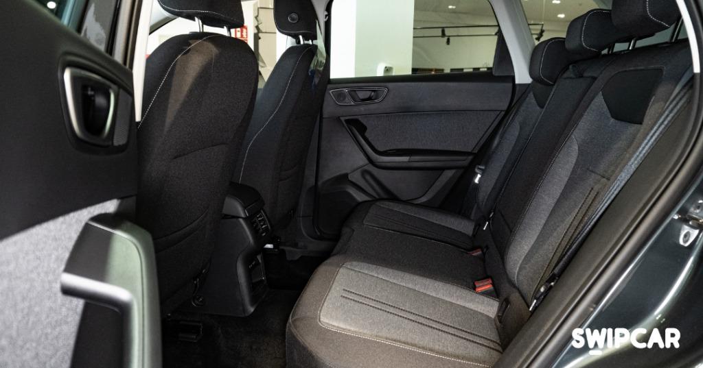 Interior seat ateca renting swipcar
