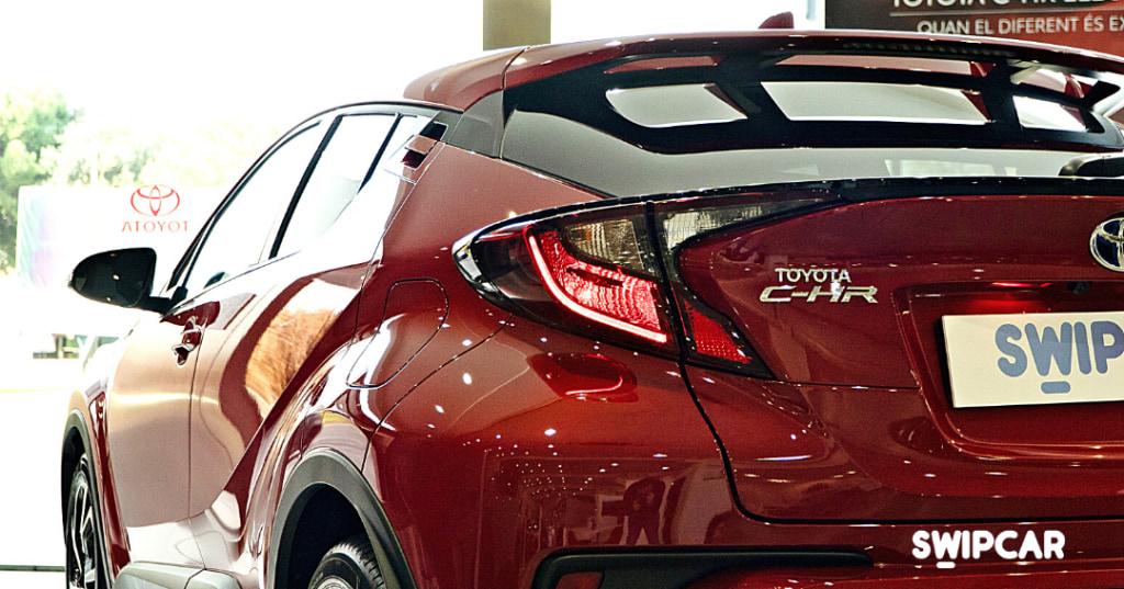 Toyota chr exterior renting swipcar