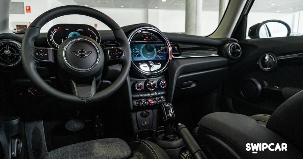interior mini cooper 2021