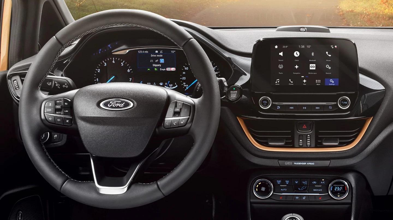 Imagen interior Ford Fiesta