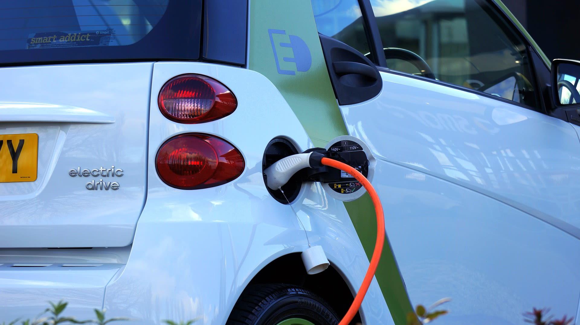 coche electrico renting