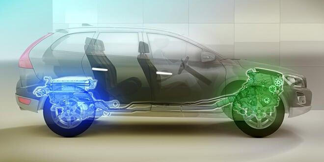 como se cargan los autos hibridos