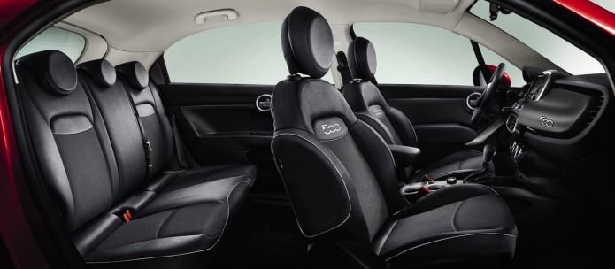 Imagen interior fiat 500x