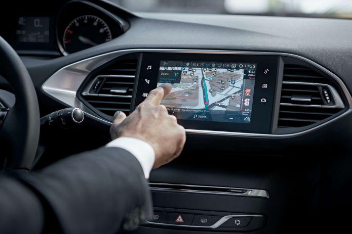 Peugeot 308 pantalla tactil