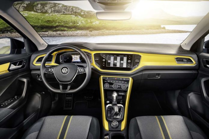 imagen interior Volkswagen T-Roc