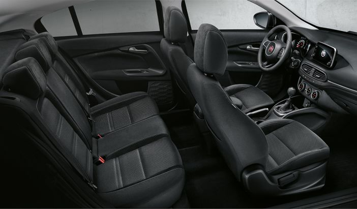imagen del interior del Fiat Tipo
