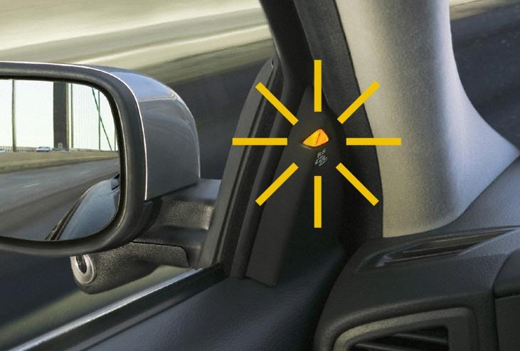 punto ciego coche