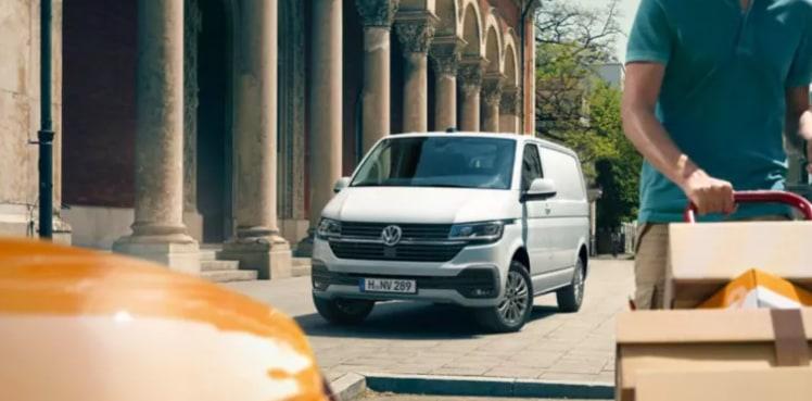 Volkswagen Transporter renting